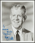 """Movie Posters:Miscellaneous, Rudy Vallee (1960s). Autographed Portrait Photo (8"""" X 10""""). Miscellaneous.. ..."""