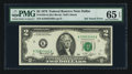 Error Notes:Ink Smears, Fr. 1935-K $2 1976 Federal Reserve Note. PMG Gem Uncirculated 65EPQ.. ...