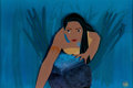 Animation Art:Presentation Cel, Pocahontas Presentation Cel and Master Production BackgroundSetup (Walt Disney, 1995)....