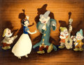 Animation Art:Production Cel, Snow White and the Seven Dwarfs Courvoisier Production Cel Setup (Walt Disney, 1937)....