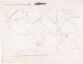 """Animation Art:Concept Art, The Beatles Yellow Submarine """"Sea of Time"""" Heinz Edelmann Concept Art (United Artists/King Features, 1968)...."""