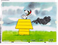 Animation Art:Production Cel, Peanuts The Charlie Brown and Snoopy Show Production Cel Sequence and Animation Drawing Setup Group of 18 Items (B... (Total: 18 Original Art)