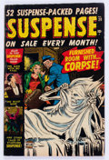 Golden Age (1938-1955):Horror, Suspense #20 (Atlas, 1952) Condition: VG....