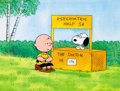 Animation Art:Production Cel, Peanuts The Charlie Brown and Snoopy Show Production CelSetup (Bill Melendez, 1983)....