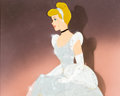 Animation Art:Production Cel, Cinderella Production Cel Setup (Walt Disney, 1950)....