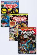 Bronze Age (1970-1979):Horror, Tomb of Dracula Group of 10 (Marvel, 1973-74) Condition: AverageVF.... (Total: 10 Comic Books)