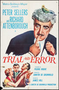 """Movie Posters:Comedy, Trial and Error (MGM, 1962). One Sheet (27"""" X 41"""") and Photos (2)(8"""" X 10""""). Comedy.. ... (Total: 3 Items)"""