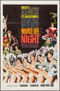 "Movie Posters:Documentary, World by Night & Other Lot (Warner Brothers, 1961). One Sheets (2) (27"" X 41"") & Photos (4) (8"" X 10""). Documentary.. ... (Total: 6 Items)"