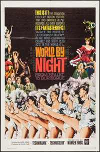 "World by Night & Other Lot (Warner Brothers, 1961). One Sheets (2) (27"" X 41"") & Photos (4) (8..."