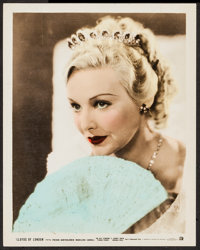 "Madeleine Carroll (20th Century Fox, 1936). Color Glos Photo (8"" X 10""). Miscellaneous"