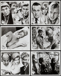 "Lorna (Eve Productions, 1964). Photos (12) (8"" X 10"") and Herald (4 Pages, 5.5"" X 8.5""). Sexploitati..."