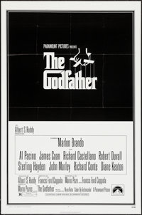 """The Godfather (Paramount, 1972). One Sheet (27"""" X 41"""") & Ad Supplement (2 Pages, 11"""" X 17"""")..."""