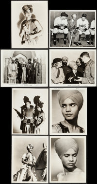 """Drums & Other Lot (United Artists, 1938). Photos (8) (7.25"""" X 9"""", 8"""" X 10""""), Trimmed Keybook..."""