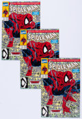 Modern Age (1980-Present):Superhero, Spider-Man #1 and 2 Group of 91 (Marvel, 1990) Condition: AverageNM-.... (Total: 91 Comic Books)