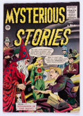 Golden Age (1938-1955):Horror, Mysterious Stories #6 (Premier , 1955) Condition: Apparent VG+....