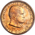 Commemorative Gold, 1922 G$1 Grant, With Star, MS67+ PCGS. CAC....