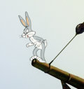 Animation Art:Production Cel, Captain Hareblower Bugs Bunny Production Cel (WarnerBrothers, 1954)....