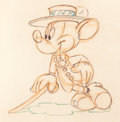 Animation Art:Production Drawing, Nifty Nineties Mickey Mouse Animation Drawing (Walt Disney,1941)....