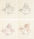 Animation Art:Production Drawing, Snow White and the Seven Dwarfs Doc Animation Drawing Group of 70 (Walt Disney, 1937).... (Total: 70 Original Art)