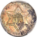 Three Cent Silver, 1855 3CS MS65 PCGS....