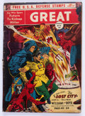 Golden Age (1938-1955):Science Fiction, Great Comics #3 (Great Comics Publications, 1942) Condition:FR/GD....
