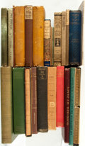 Books:Literature Pre-1900, [Walt Whitman]. Group of Twenty-Six Books by or about Walt Whitman.Various publishers. 1871-1970.... (Total: 26 Items)