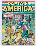 Golden Age (1938-1955):Superhero, Captain America Comics #1 (Timely, 1941) Condition: Coverless....