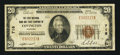 National Bank Notes:Kentucky, Covington, KY - $20 1929 Ty. 1 The First NB & TC Ch. # 718. ...