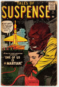 Silver Age (1956-1969):Science Fiction, Tales of Suspense #4 (Marvel, 1959) Condition: FR/GD....
