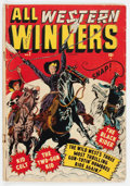 Golden Age (1938-1955):Western, All Western Winners #2 (Marvel, 1948) Condition: GD/VG....