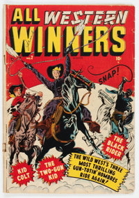 All Western Winners #2 (Marvel, 1948) Condition: GD/VG