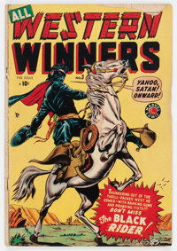 All Western Winners #3 (Marvel, 1949) Condition: GD