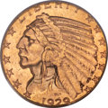 Indian Half Eagles, 1929 $5 MS64 PCGS....