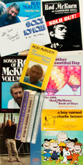 Books:Music & Sheet Music, Rod McKuen. Group of Five Songbooks and Seven Books, Four SIGNED. Various publishers and dates.... (Total: 12 Items)