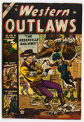 Golden Age (1938-1955):War, Western Outlaws #1 (Atlas, 1954) Condition: FN....