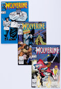 Modern Age (1980-Present):Superhero, Wolverine Box Lot (Marvel, 1989) Condition: Average NM-....