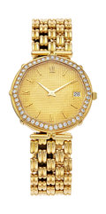 Estate Jewelry:Watches, Royama Gentleman's Diamond, Gold Watch. ...