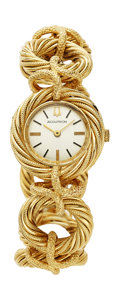 Estate Jewelry:Watches, Bulova Accutron Lady's Gold Watch. ...