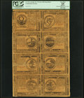 Colonial Notes:Continental Congress Issues, Continental Currency July 22, 1776 $2, $3, $4, $5, $6, $7, $8 and$30 PCGS Apparent Very Fine 35.. ...
