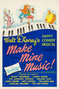 Animation Art:Poster, Make Mine Music Movie Poster (Walt Disney, 1946)....