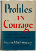 Books:Americana & American History, John F. Kennedy. Profiles in Courage. New York: Harper &Brothers, [1956]. . ...