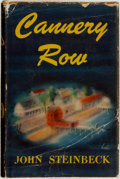 Books:Literature 1900-up, John Steinbeck. Cannery Row. New York: The Viking Press,1945. . ...