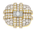 Estate Jewelry:Rings, Diamond, Platinum, Gold Ring, David Webb. ...