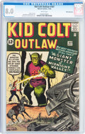 Silver Age (1956-1969):Western, Kid Colt Outlaw #107 White Mountain pedigree (Atlas/Marvel, 1962)CGC VF 8.0 White pages....
