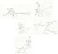 Animation Art:Production Drawing, The Pink Panther Pink Panther and Inspector ClouseauAnimation Drawing Group of 5 (MGM, 2006).... (Total: 5 OriginalArt)