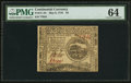 Colonial Notes:Continental Congress Issues, Continental Currency May 9, 1776 $4 PMG Choice Uncirculated 64.....