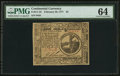 Colonial Notes:Continental Congress Issues, Continental Currency February 26, 1777 $2 PMG Choice Uncirculated 64.. ...