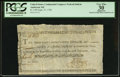 Colonial Notes:Continental Congress Issues, Continental Congress Federal Indent Anderson 165 $1 PCGS ApparentVery Fine 30.. ...