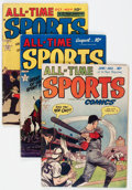 Golden Age (1938-1955):Miscellaneous, All-Time Sports Comics Group of 5 (Hillman Publications, 1949) Condition: Average VG.... (Total: 5 Comic Books)