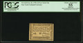 Colonial Notes:New York, New York 1d Feb. 20, 1790 PCGS Apparent Choice About New 55.. ...